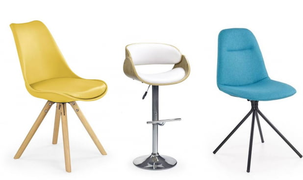 Krzesła i fotele Halmar