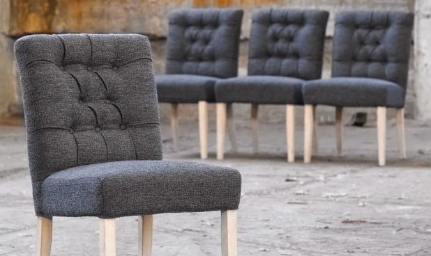 Krzesła Tapicerowane Jadik