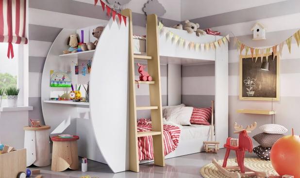 Łóżka Piętrowe Tom i Jerry