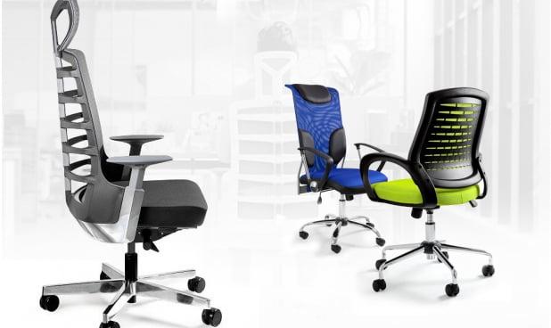 Kolekcja Unique Fotele i krzesła biurowe