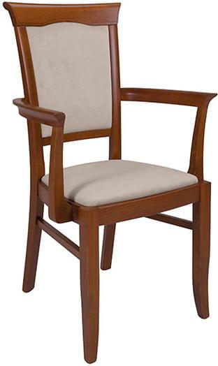 Krzesło Kent z podłokietnikami