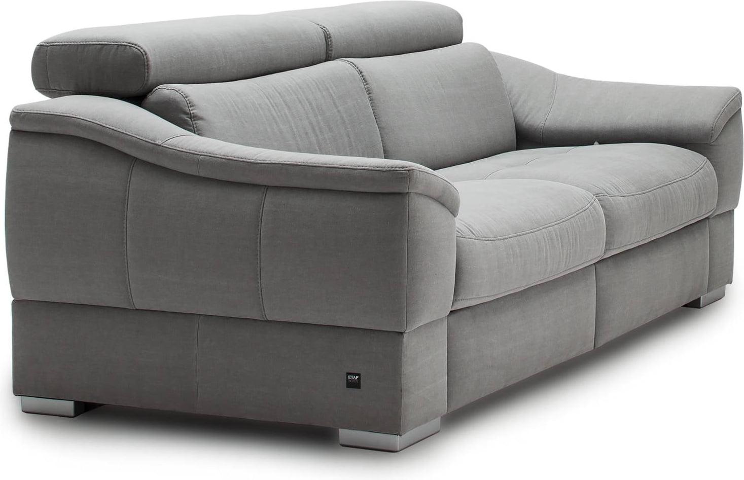 Sofa 2-osobowa z funkcją relaksu manualnego lewa Urbano