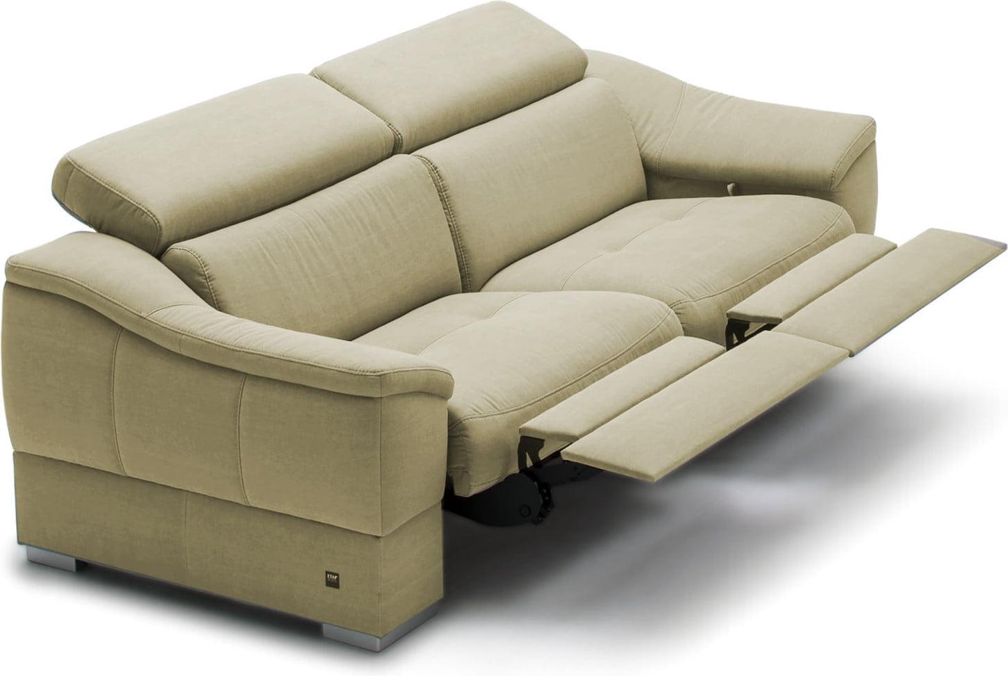 Sofa 2-osobowa z funkcją relaks manualnego Urbano