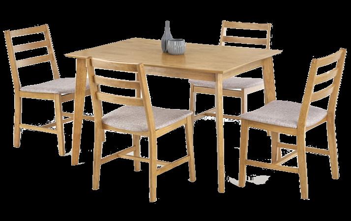 Stoły z krzesłami