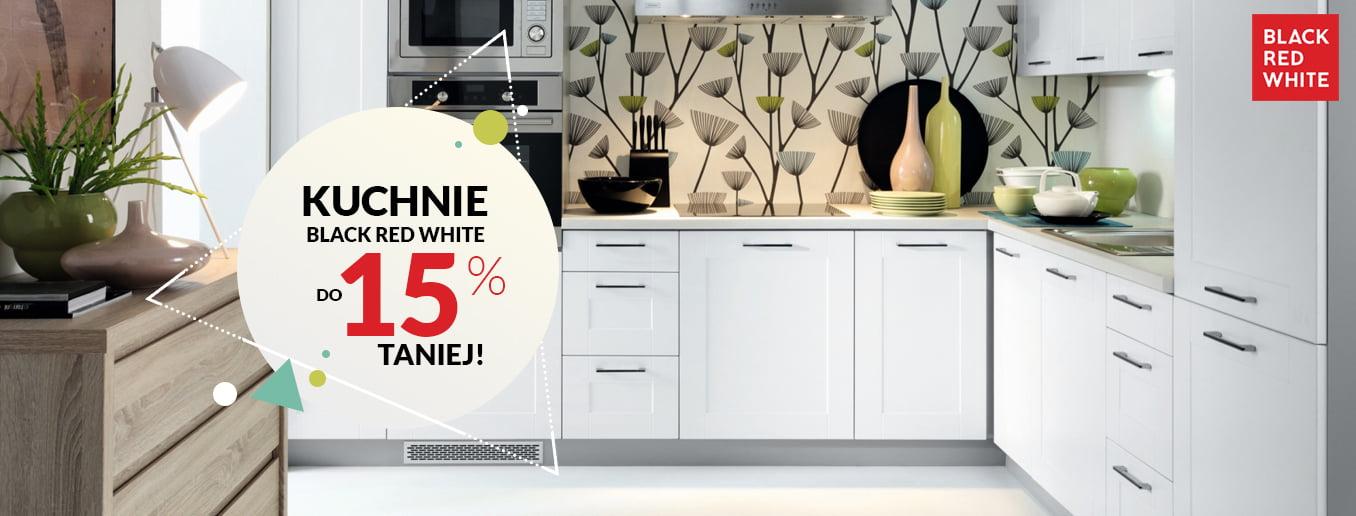 Black Red White - Wybrane kuchnie do 15% taniej!