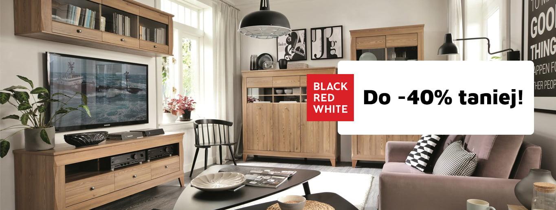 Wszystkie meble Black Red White do 40% taniej!