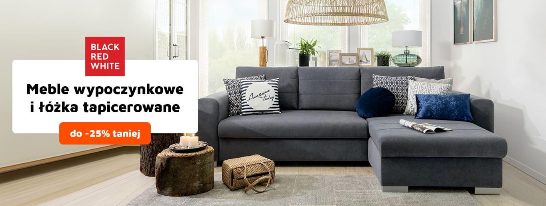 Meble i łóżka tapicerowane BRW do 25% taniej