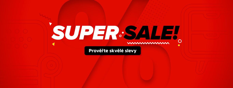 Super sale – Prověřte skvělé slevy!