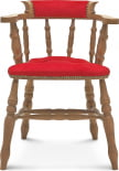 Krzesło z podłokietnikami B-9437