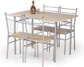 Zestaw stół i 4 krzesła Faust