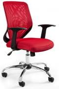 Fotel Mobi Czerwony
