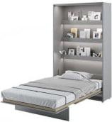 Półkotapczan Pionowy 120 Bed Concept Szary