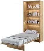 Półkotapczan Pionowy 90 Bed Concept Jasny dąb
