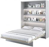 Półkotapczan Pionowy 160 Bed Concept Szary