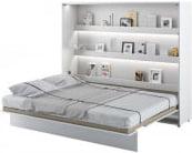 Półkotapczan Poziomy 160 Bed Concept Biały