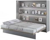 Półkotapczan Poziomy 160 Bed Concept Szary