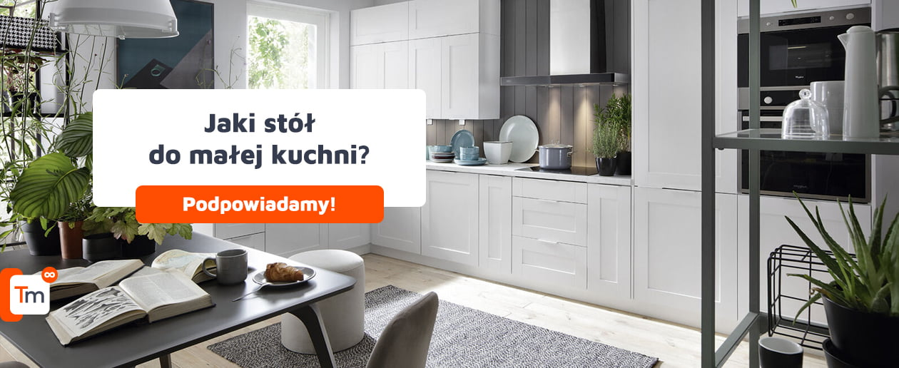 Jaki wybrać stół do małej kuchni?