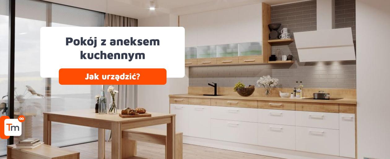 Jak urządzić pokój z aneksem kuchennym?