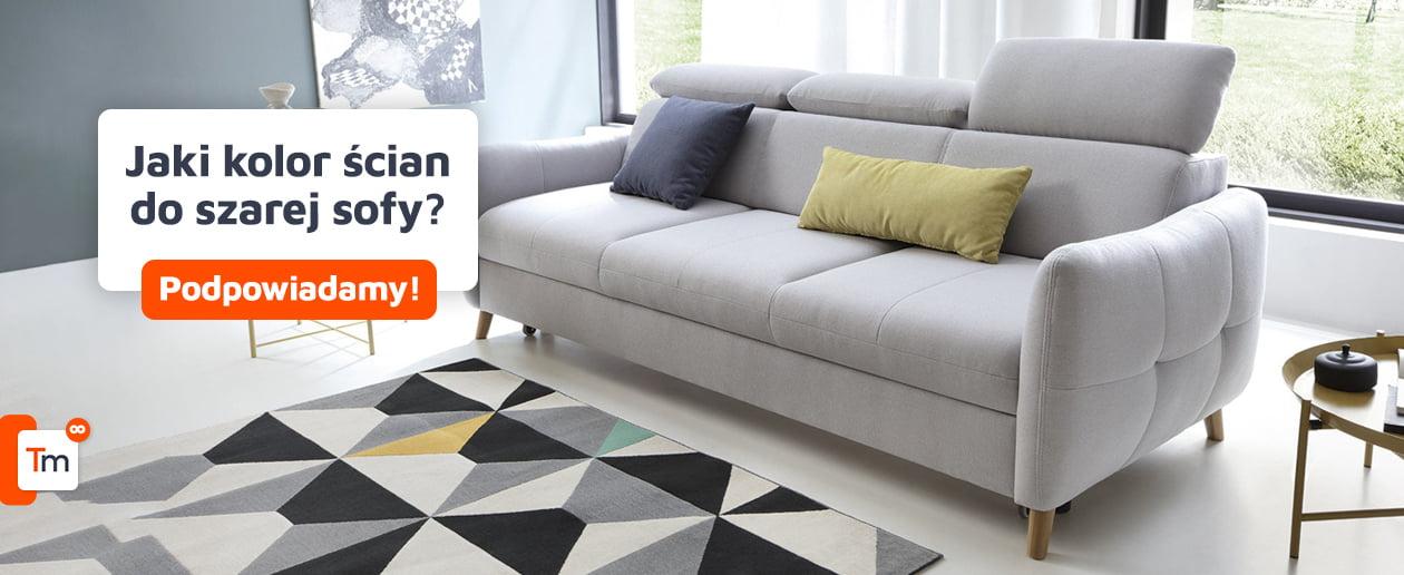 Jaki kolor ścian do szarej kanapy?