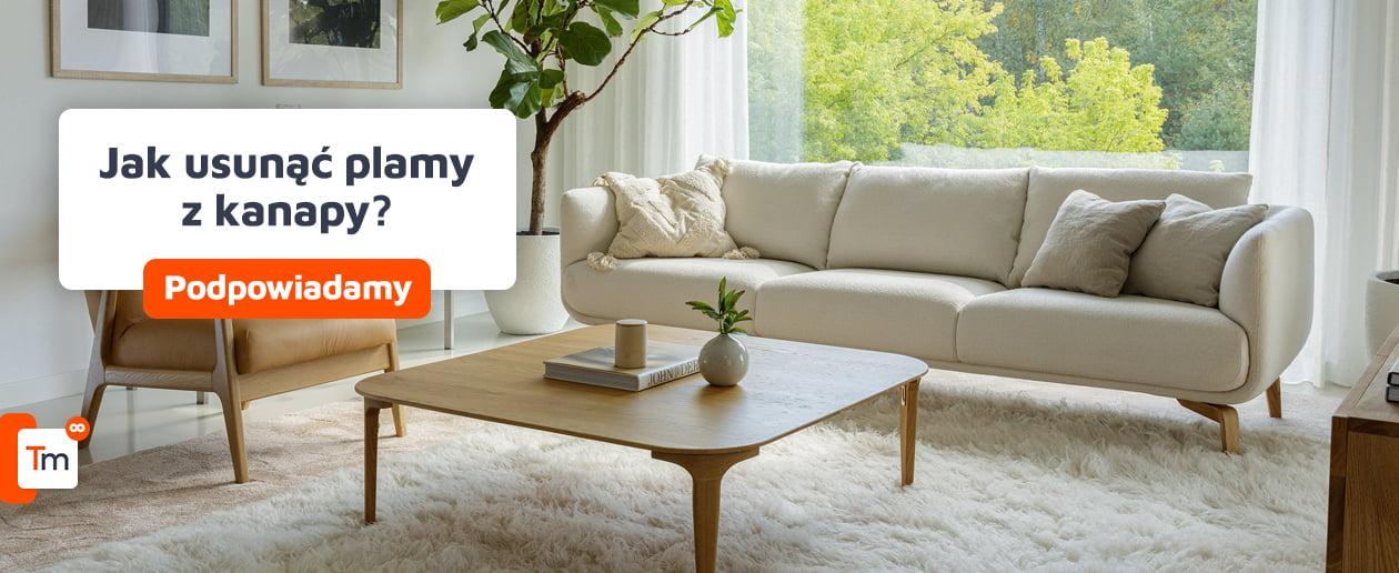 Jak usunąć plamy z kanapy?