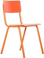 Krzesło pomarańczowe Back to school