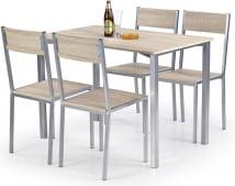 Zestaw stół + 4 krzesła Ralph