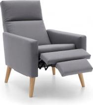 Fotel z funkcją relaksu manualnego Kinga