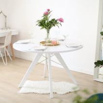 Stół Basic White okrągły