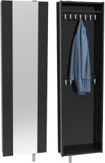 Šatní skříň s zrcadlem Home Flash