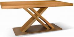 Stół Triple Mix Kombi podstawa szczotkowana