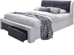 Łóżko Cassandra z szufladami 160