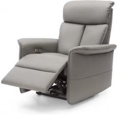 Fotel z funkcją relaksu manualnego Busto