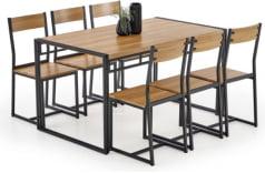 Zestaw stół + 6 krzeseł Bolivar