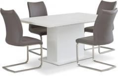 Zestaw stół EST42 i krzesła Liguria