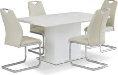 Zestaw stół EST42 i krzesła Angalo