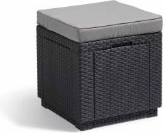 Stolik z siedziskiem i schowkiem 3w1 Cube