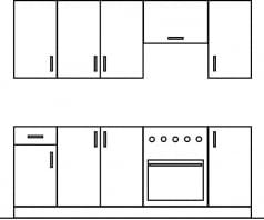 Zestaw kuchni 220 Gała Meble