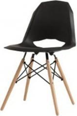 Krzesło czarne Match Wood