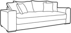 Sofa Peter III Mega LUX 3DL
