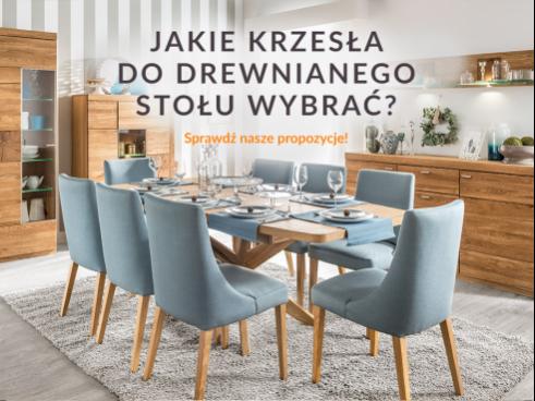 Jakie krzesła do drewnianego stołu wybrać?