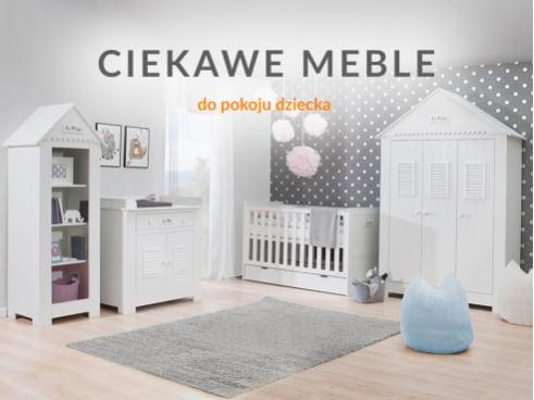 Ciekawe meble do pokoju dziecięcego