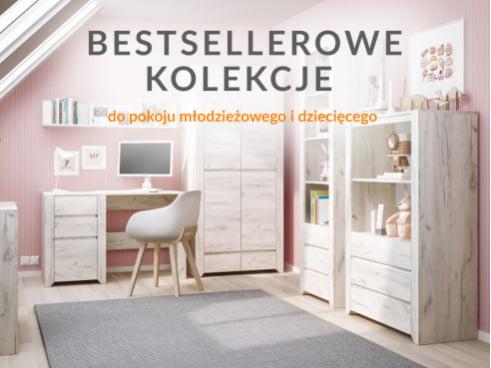 Bestsellerowe kolekcje do pokoju młodzieżowego i dziecięcego!