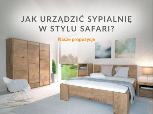 Jak urządzić sypialnię w stylu safari?