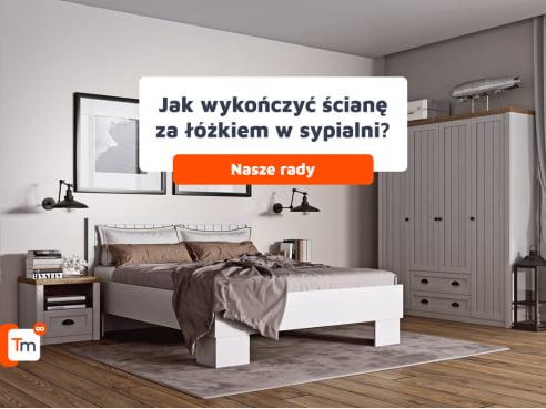 Jak wykończyć ścianę za łóżkiem w sypialni?