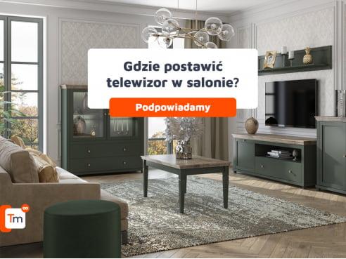 Gdzie postawić telewizor w salonie?