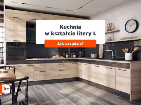 Jak urządzić kuchnię w kształcie litery L?