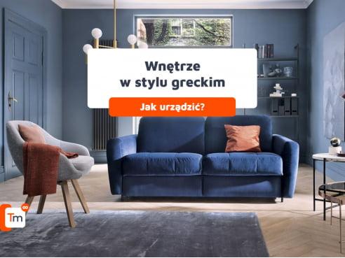 Jak urządzić wnętrze w stylu greckim?