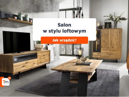 Jak urządzić salon w styluloftowym?