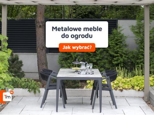 Metalowe meble do ogrodu - jak wybrać?