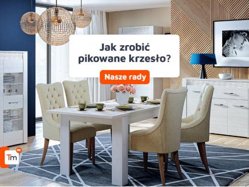 Jak zrobić pikowane krzesło?